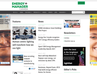 energymanagementcanada.com screenshot