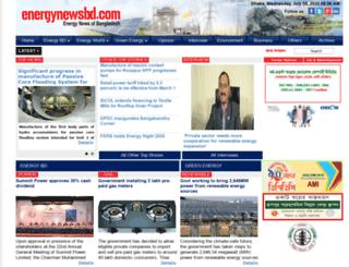 energynewsbd.com screenshot