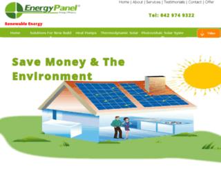 energypanel.ie screenshot