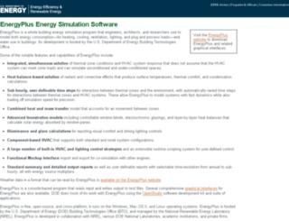 energyplus.gov screenshot