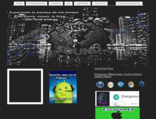 energysound.musicagratis.website screenshot