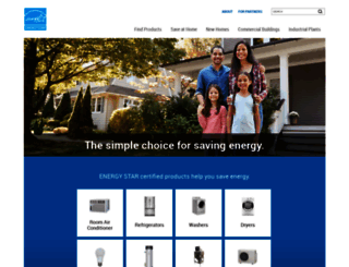 energystar.gov screenshot