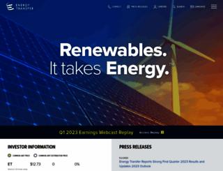 energytransfer.com screenshot