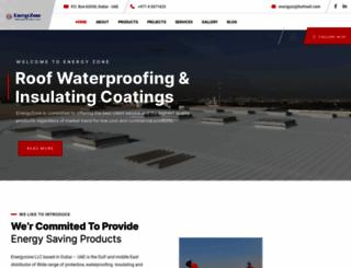 energyzonecoatings.com screenshot