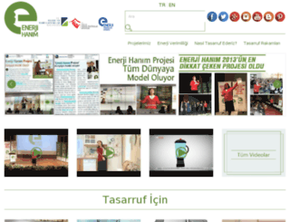 enerjihanim.com screenshot