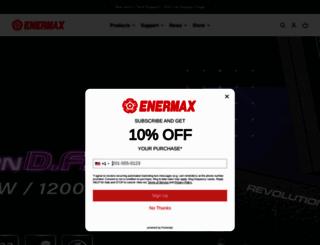 enermaxusa.com screenshot