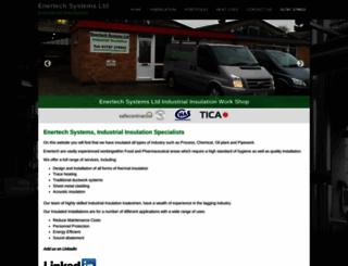 enertechsystems.co.uk screenshot
