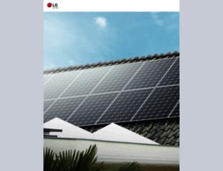 enervu.lg-solar.com screenshot