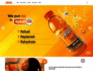 enerzal.com screenshot