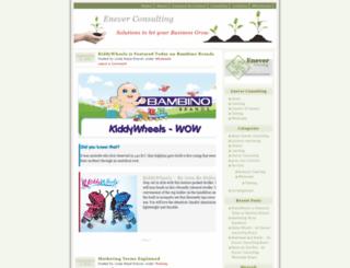 eneverconsulting.wordpress.com screenshot