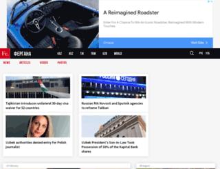 enews.fergananews.com screenshot