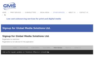 enews.gms-asia.net screenshot