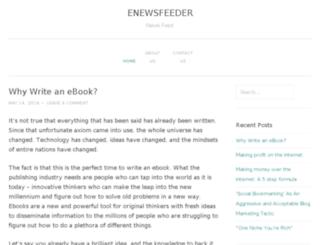 enewsfeeder.com screenshot