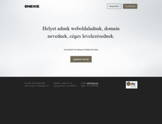 enexis.hu screenshot