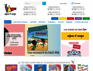 enfancemusique.com screenshot