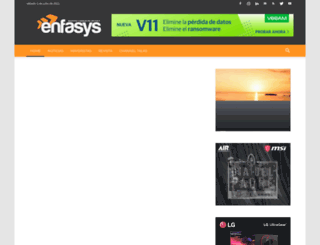 enfasys.net screenshot