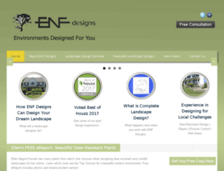 enfdesigns.com screenshot