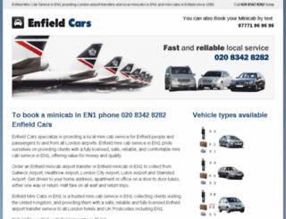 enfieldcars.co.uk screenshot