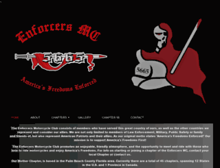 enforcersmc.com screenshot