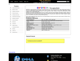 enfotechindia.com screenshot
