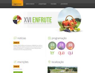 enfrute.com.br screenshot