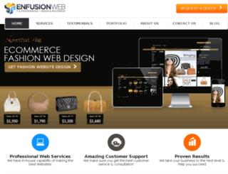 enfusionweb.com screenshot