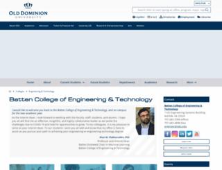 eng.odu.edu screenshot