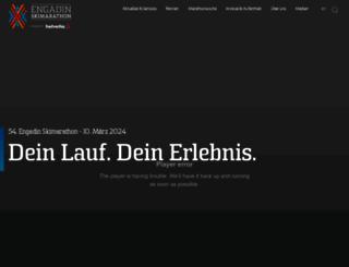 engadin-skimarathon.ch screenshot