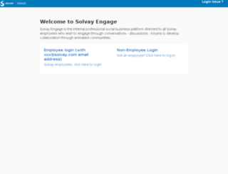 engage-solvay.jiveon.com screenshot