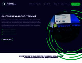 engagecustomer.com screenshot