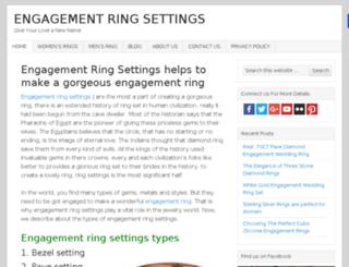 engagementringsettingshq.com screenshot
