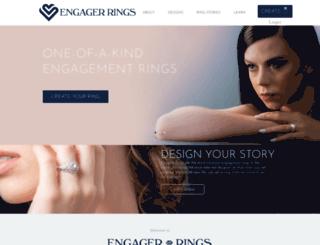 engager-rings.com screenshot