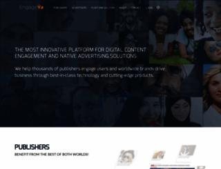 engageya.com screenshot
