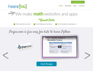 engagingedu.com screenshot