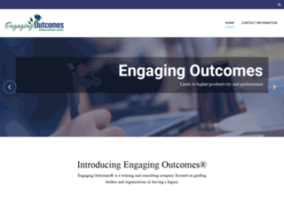 engagingoutcomes.com screenshot