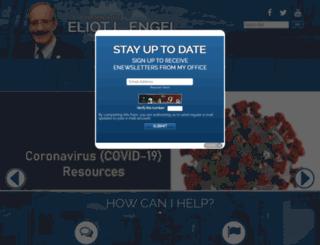 engel.house.gov screenshot