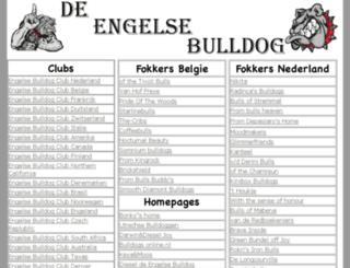 engelsebulldog.be screenshot