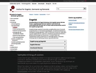 engelsk.ku.dk screenshot