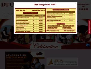 engg.dypvp.edu.in screenshot