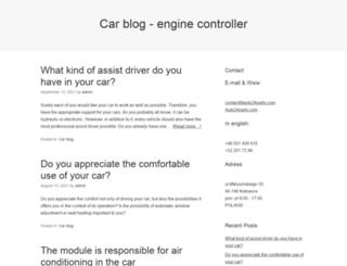 engine-controller.com screenshot