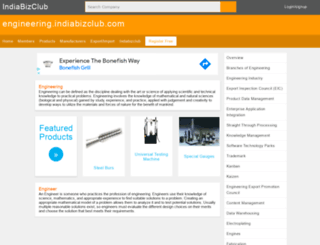 engineering.indiabizclub.com screenshot