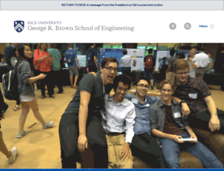 engineering.rice.edu screenshot