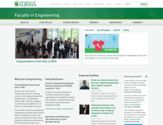 engineering.ualberta.ca screenshot