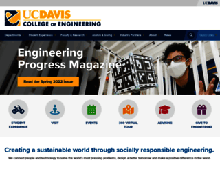 engineering.ucdavis.edu screenshot