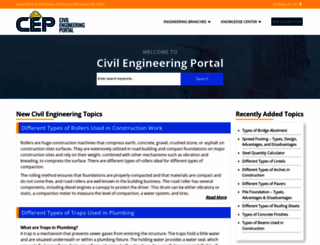 engineeringcivil.com screenshot