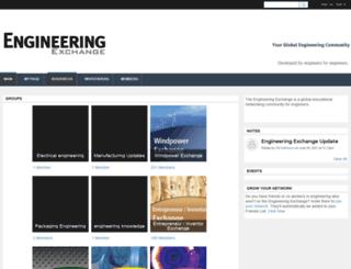 engineeringexchange.com screenshot
