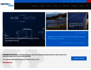 engineeringforchange.org screenshot