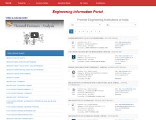 engineeringinfo.in screenshot
