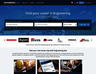 engineeringjobs.co.uk screenshot