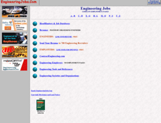 engineeringjobs.com screenshot